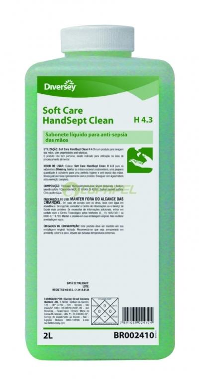 REFIL SOFTCARE HANDSEPT CLEAN H4.3 2 L