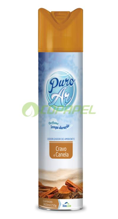 PURO AR 360ML AEROSOL CRAVO E CANELA