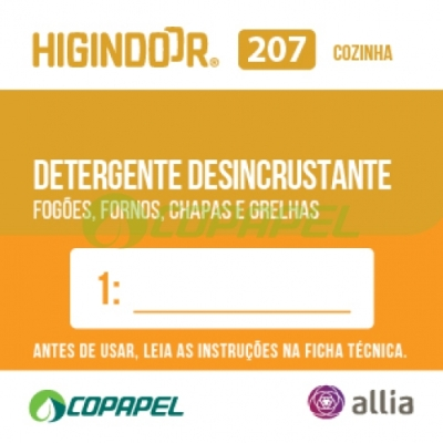 ADESIVO HIGINDOOR 207 - 4x4cm - DILUIDOR