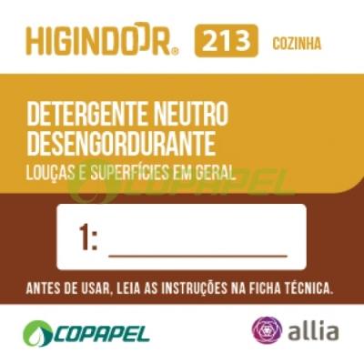 ADESIVO HIGINDOOR 213 - 4x4cm - DILUIDOR