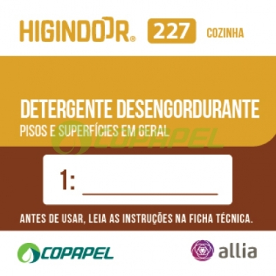 ADESIVO HIGINDOOR 227 - 4x4cm - DILUIDOR