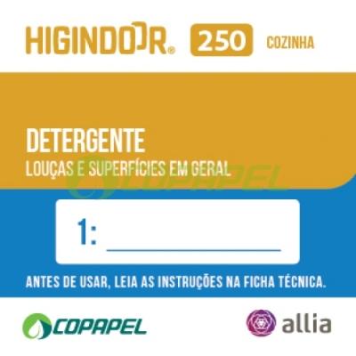 ADESIVO HIGINDOOR 250 - 4x4cm - DILUIDOR