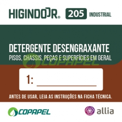 ADESIVO HIGINDOOR 205 - 4x4cm - DILUIDOR