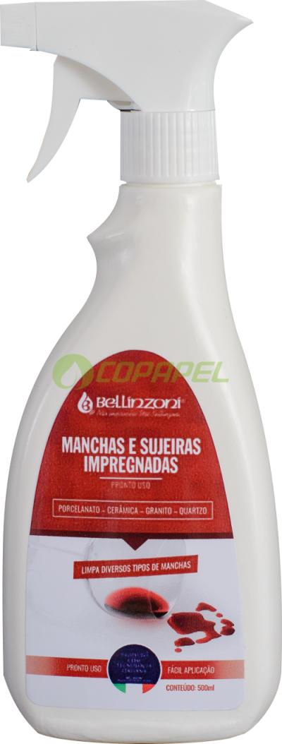 LIMPA MANCHAS E SUJEIRAS IMPREGNADAS