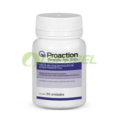 Proaction Peracetic Test Strips